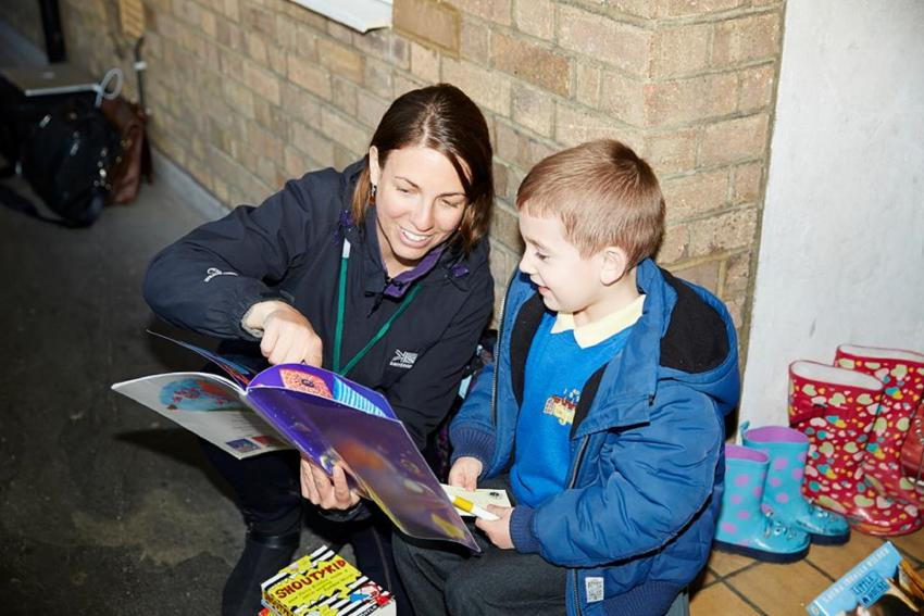 Doorstep Library is an innovative children's literacy support charity that brings the joy of reading to children