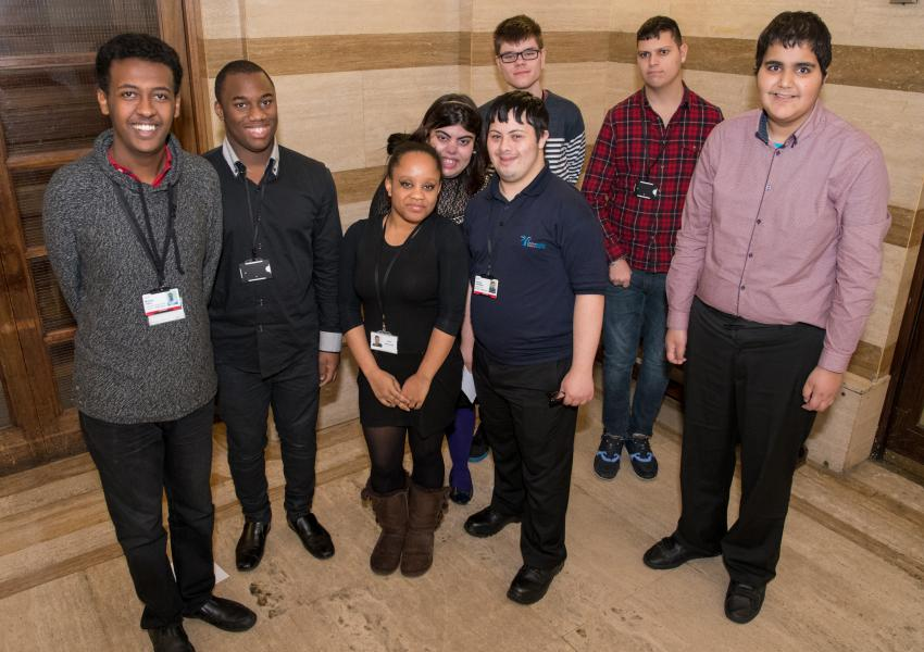 Launch of supported internship programme