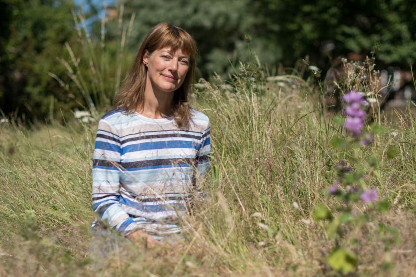 Fulham resident Emma Robertshaw worked with the council on a project to boost wildlife in her local park