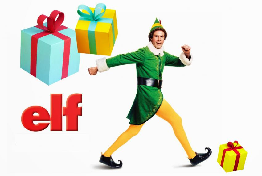 Elf (the movie) poster