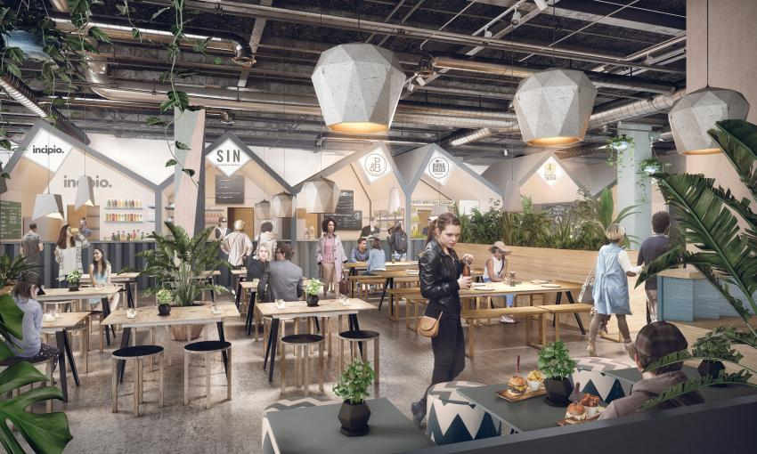 Eat work and play at daring new food court in kings mall for Azerbaijani cuisine london