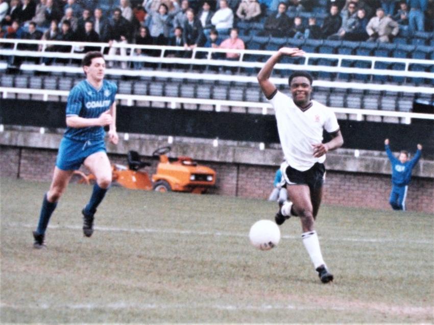 Fulham's Paul Parker