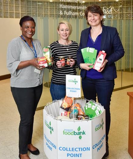 New Food Bank Collection Point To Help Fight Against Food