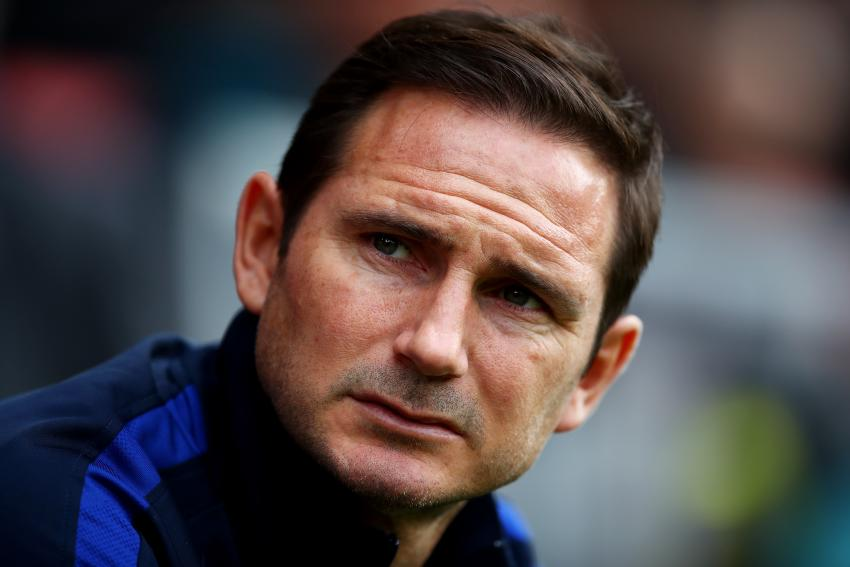Chelsea FC manager Frank Lampard