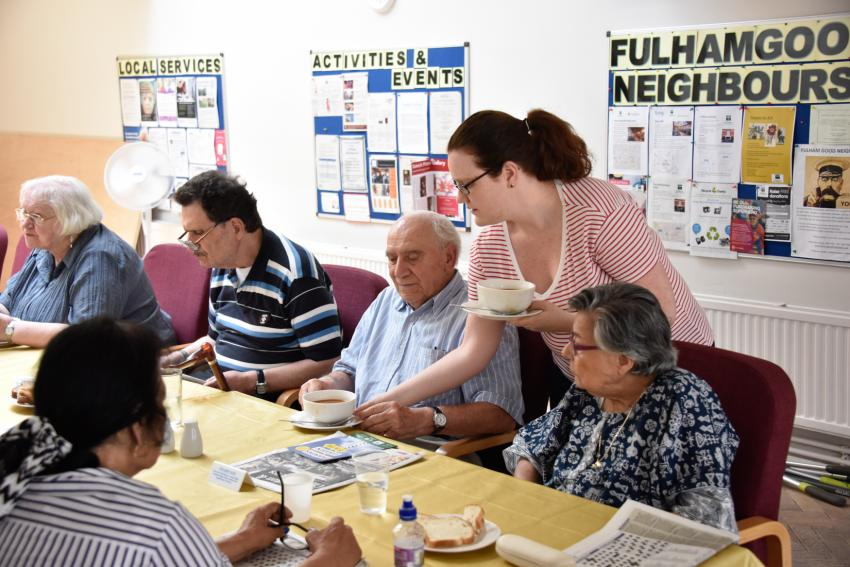 Fulham Good Neighbours drop-in session