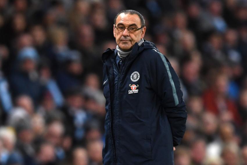 Maurizio Sarri manager of Chelsea