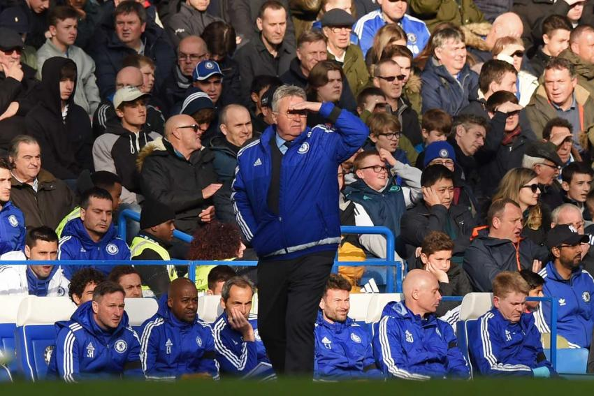 Guus Hiddink looks for signs of hope against Manchester City