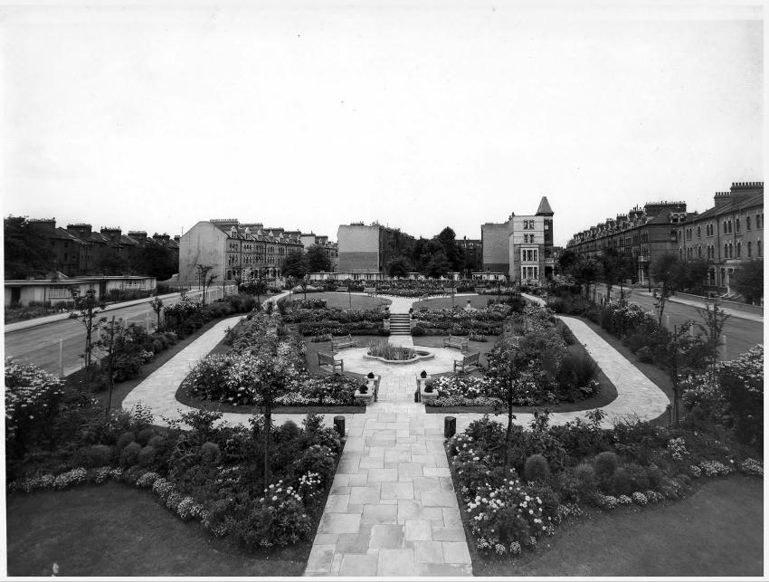 Gwendwr Gardens gets make over after 67 years