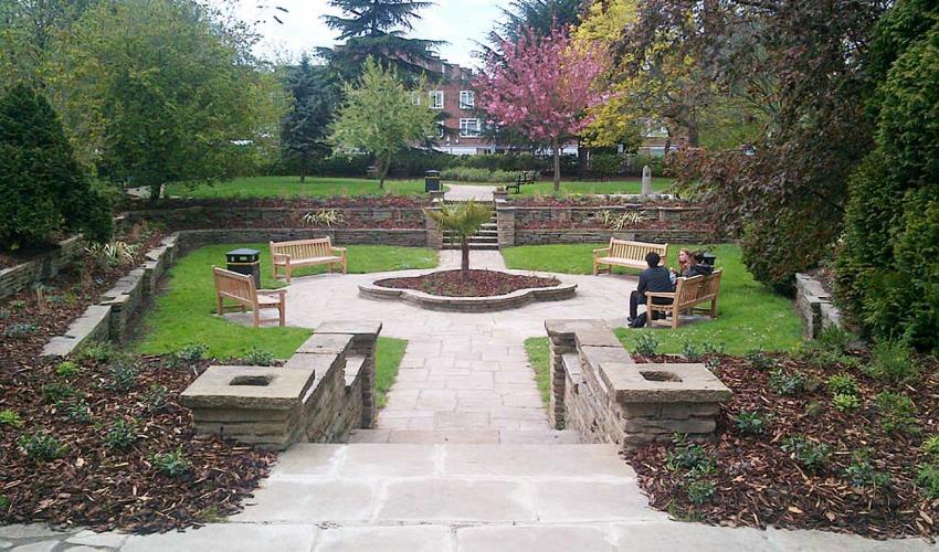 H&F Council has refurbished Gwendwr Gardens in West Kensington