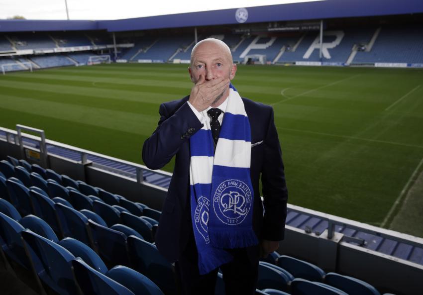 Ian Holloway back at the QPR stadium