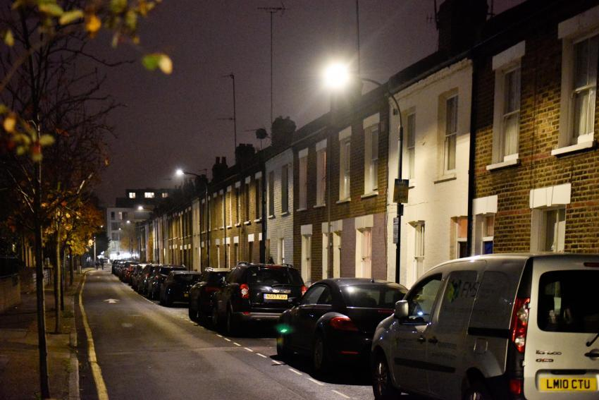 Energy saving street lights in Hammersmith & Fulham
