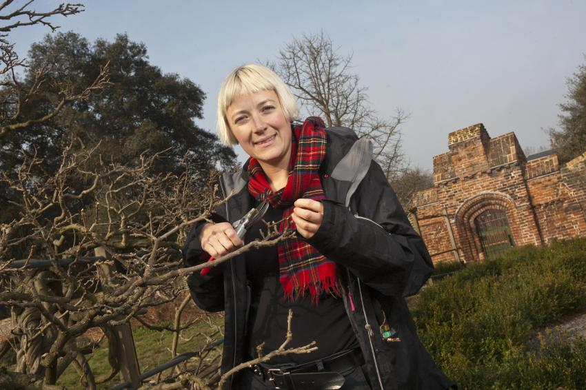 Fulham Palace head gardener Lucy Hart