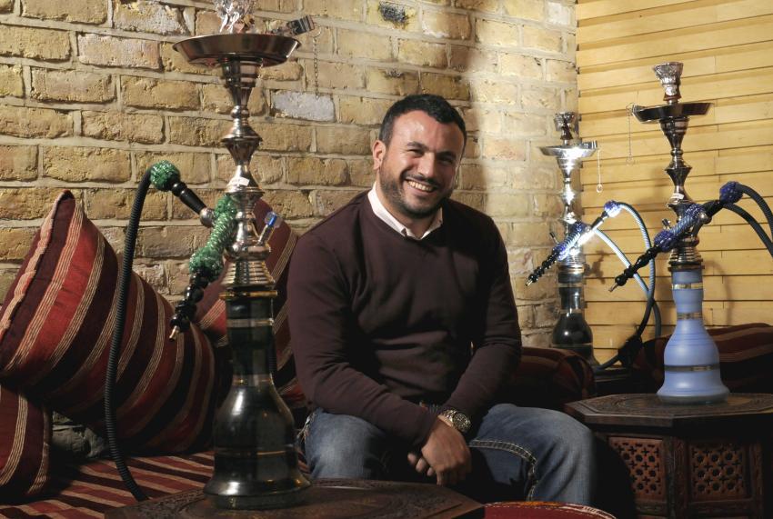 Gursel Gurgur is the owner of best mangal restaurant, 619 Fulham Road.