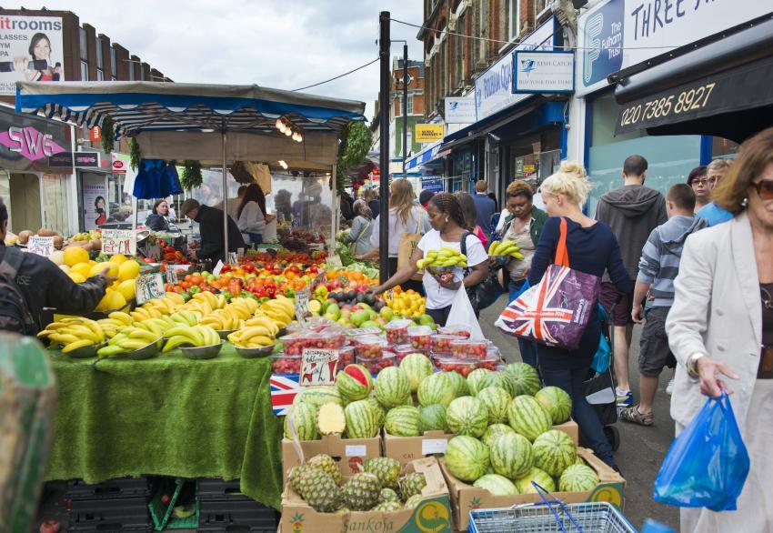 North End Road Market.