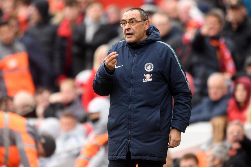 Manager of Chelsea Maurizio Sarri