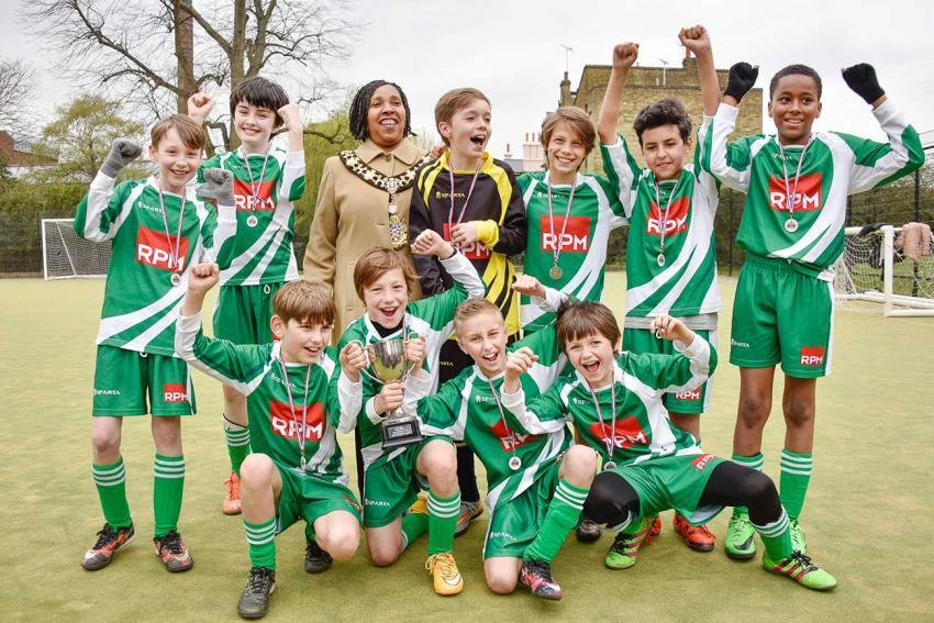 Greenside boys team