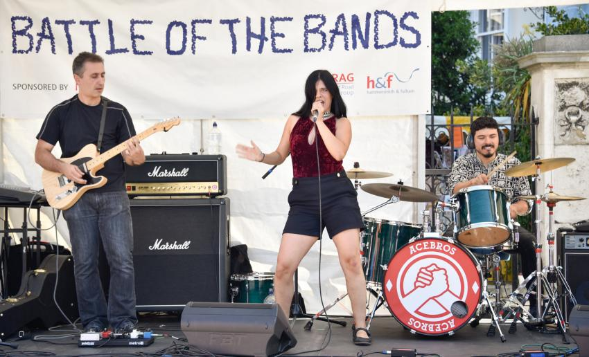 Battle of the Bands at North End Road summer market