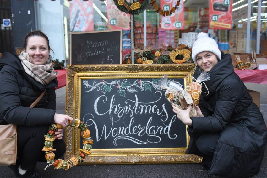 Traders should sign up before Friday 11 November to ensure the best chance of getting a pitch