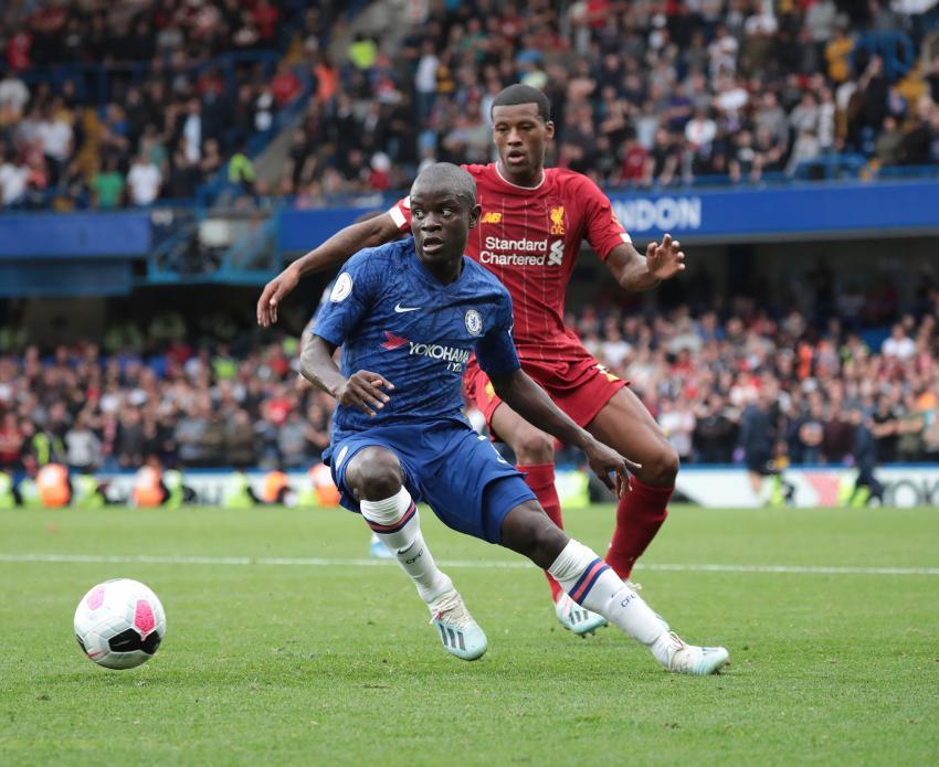 N'Golo Kante at Stamford Bridge