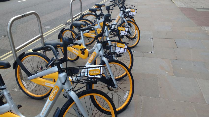 Dealing With A Glut Of Yellow Bicycles In Hf Lbhf