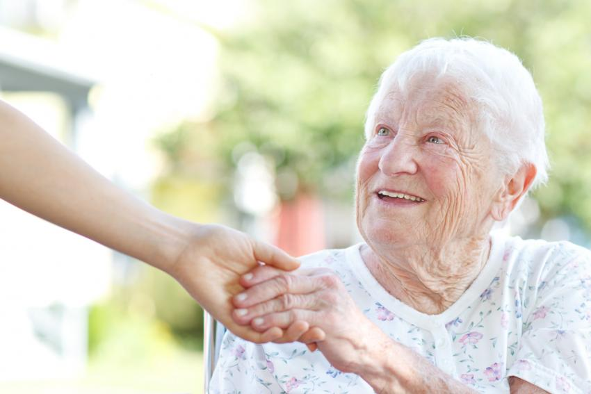 Our sheltered housing gives older people a helping hand
