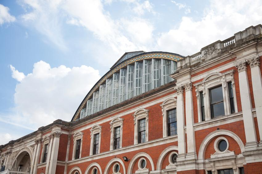 Exterior view of the Olympia London complex