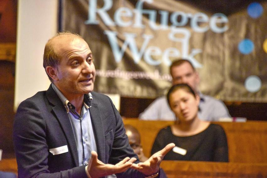 Matt Neibler, Refugee Welcome Committee of Hammersmith and Fulham