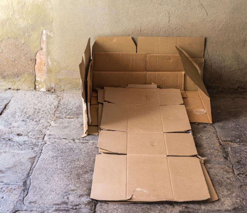 Rough sleeping boxes