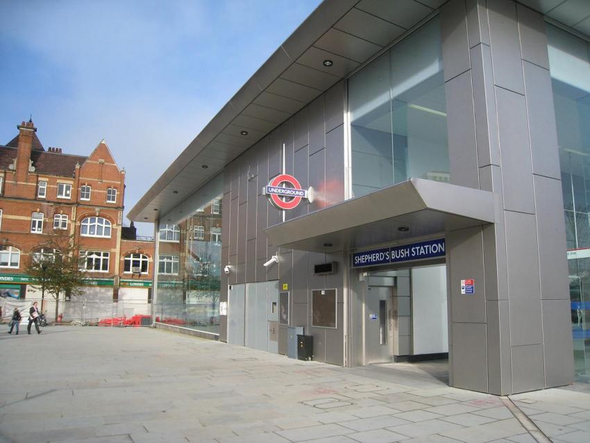 Shepherds Bush tube station