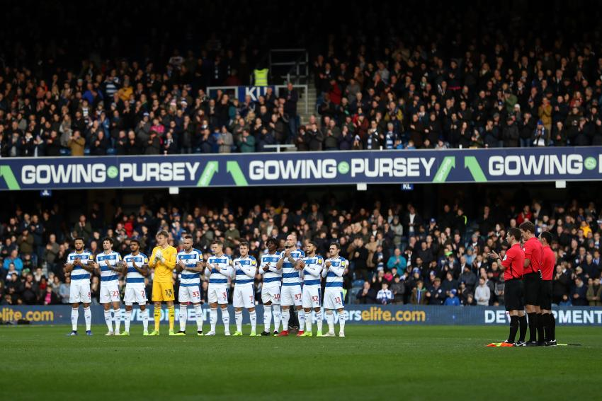 Queens Park Rangers and Reading at Loftus Road
