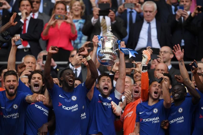 The Emirates FA Cup Final between Chelsea and Manchester United