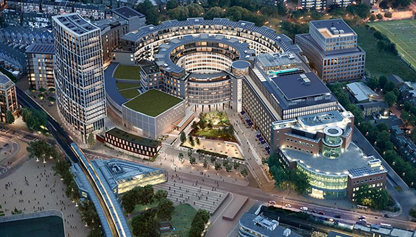 Television Centre in White City