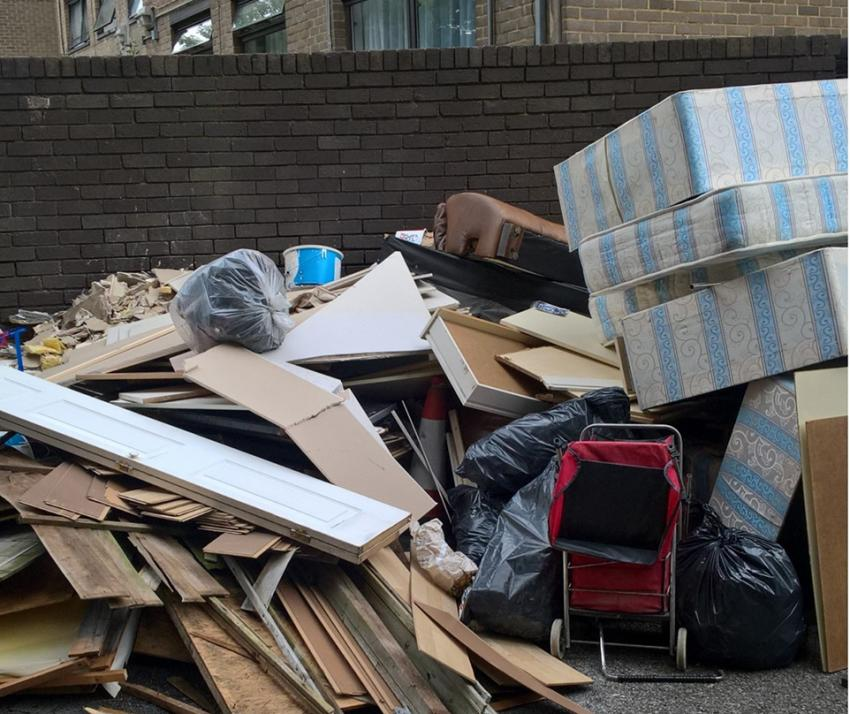 Flytipping on the streets of H&F