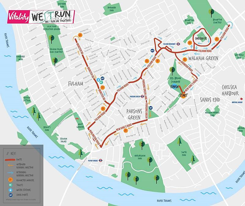 Finish Line Approaches For Inaugural Fulham 10k Registration Lbhf