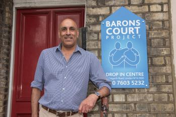 Director of the Barons Court Project, Michael Angus