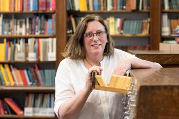 Kath Shawcross has been awarded a top gong by the Society of Genealogists