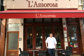 Andy Needham of  L'Amorosa