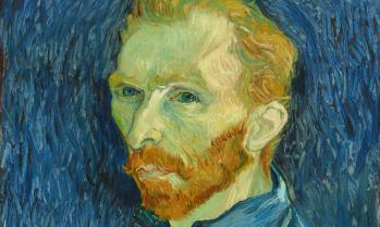 Self Portrait by Vincent van Gogh, one of the Tate exhibition paintings