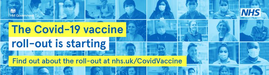 The Covid-19 vaccine roll-out is starting