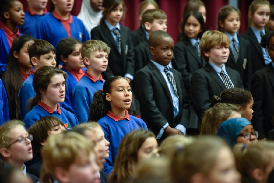 H&F Primary Christmas Singing Festival