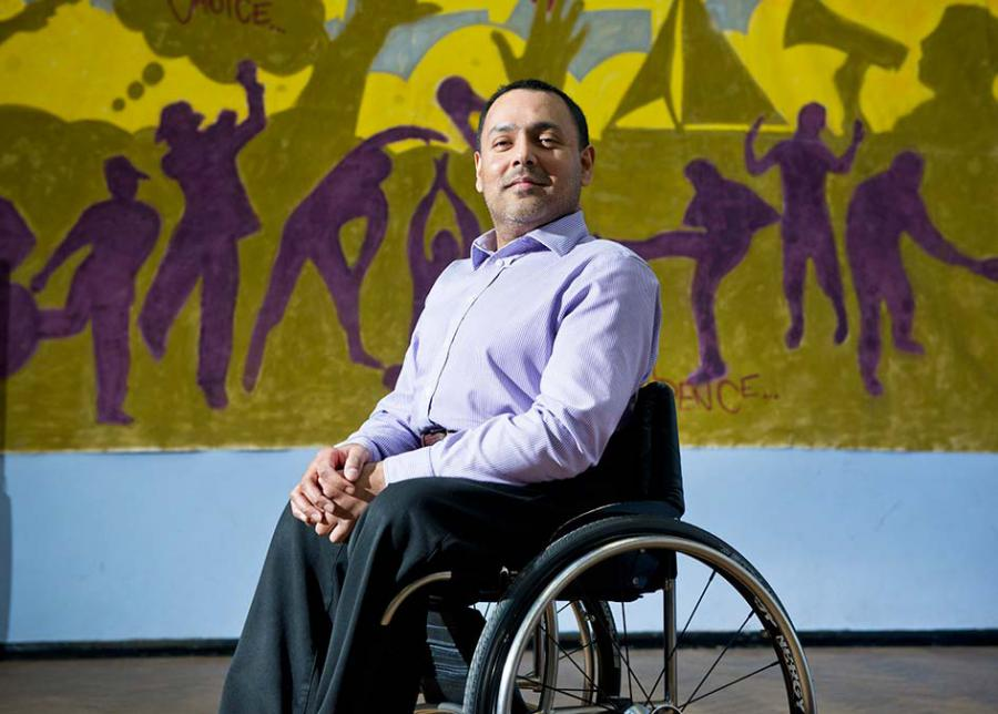 Kamran Malik CEO of Action on Disability
