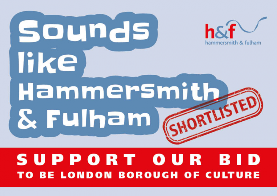 Sounds like Hammersmith & Fulham - shortlisted. Support our bid to be London Borough of Culture