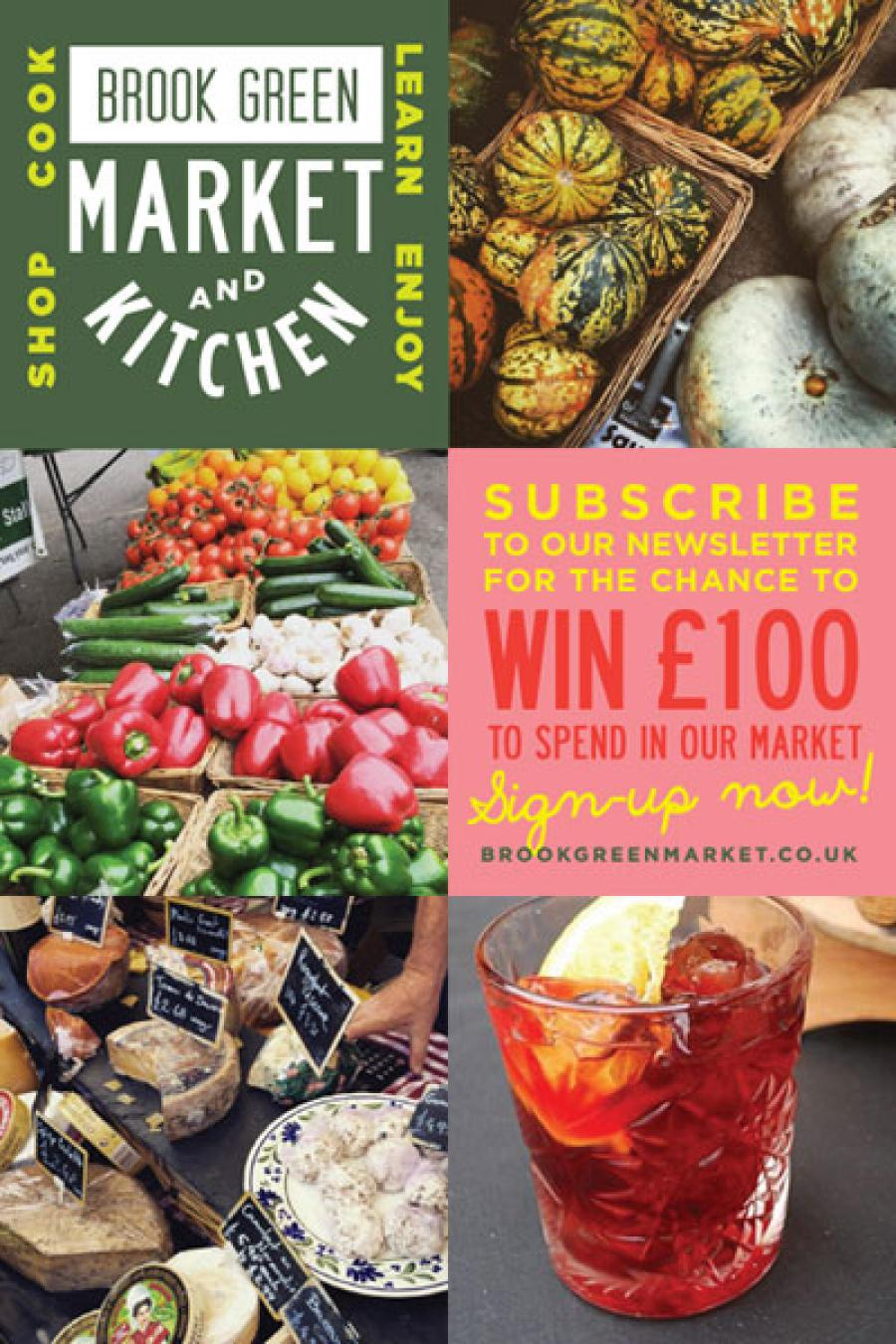 Brook Green Market has a £100 prize up for grabs