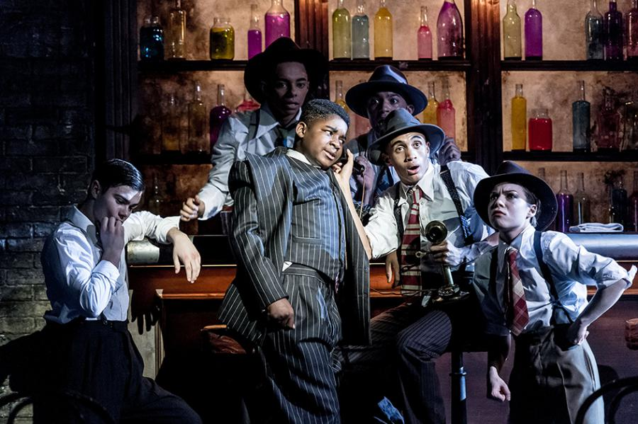 Hit production Bugsy Malone returns to the Lyric theatre