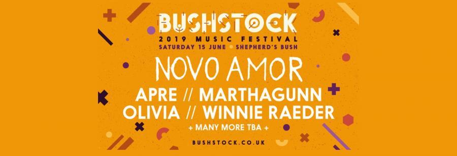 Bushstock promotional banner