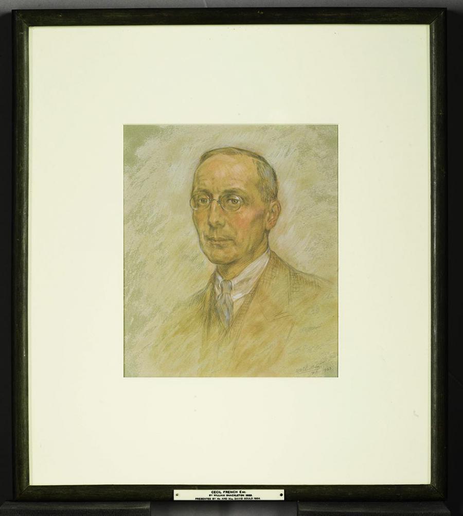 Cecil French portrait