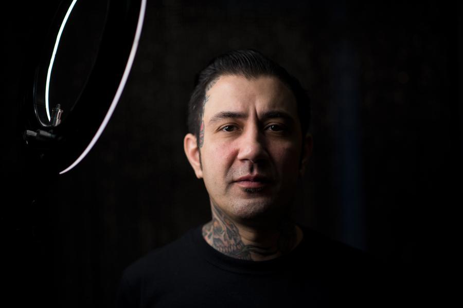 Veteran tattoo artist Diogo 'Xico' Melo