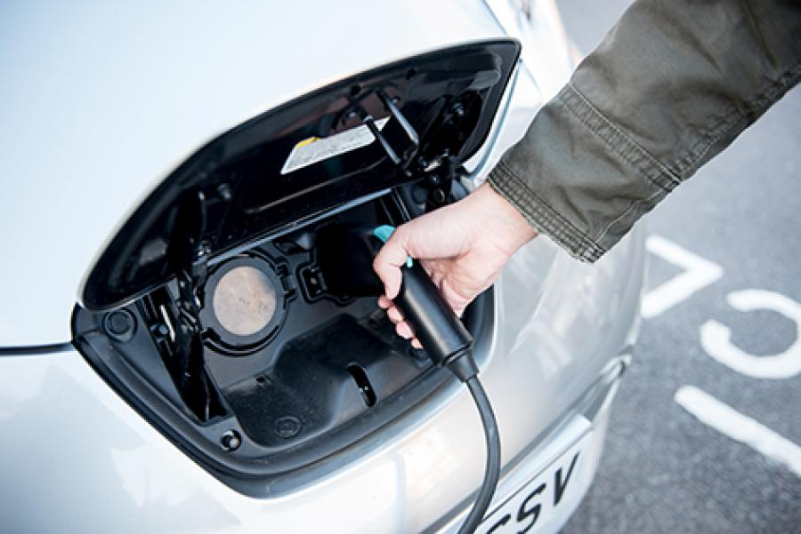 New electric vehicle charging points go live