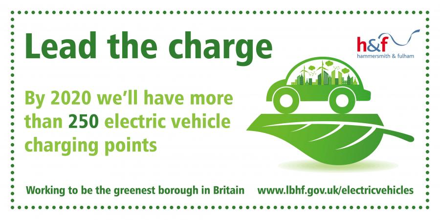 Lead the charge. By 2020 we'll have more than 250 electric vehicle charging points