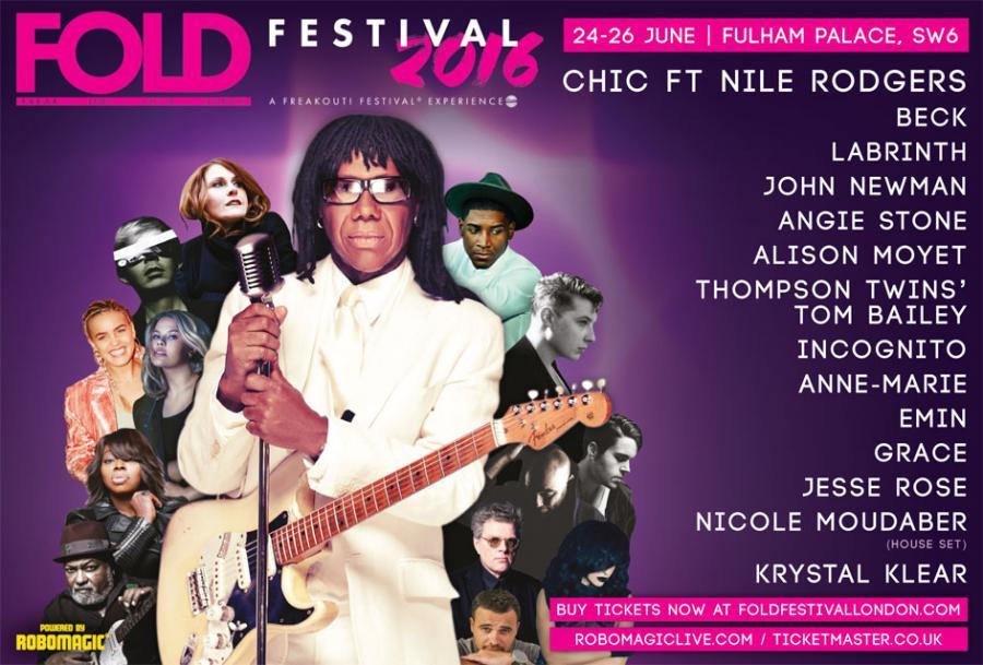 FOLD Festival poster
